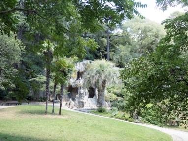 Nîmes Jardin de la Fontaine