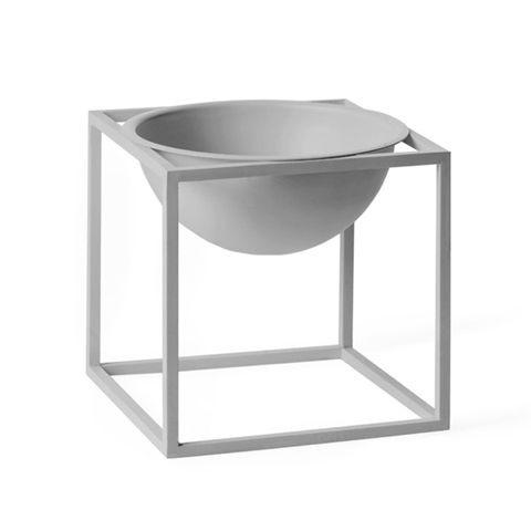 Kubus bowl lille - cool grå