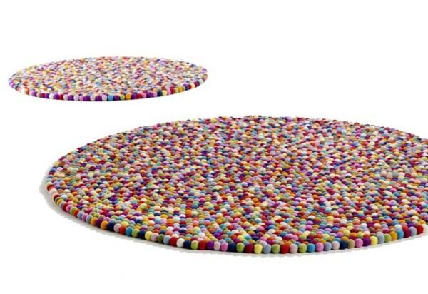 Pinocchio tæppe - Multifarvet
