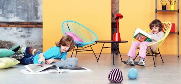 Acapulco mini til børn, gul - OK Design