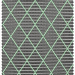 HAY Dot Carpet, 120 x 170 cm - Electric-Green