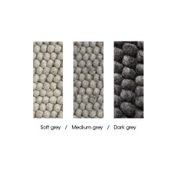HAY Peas tæppe, 140 x 200 cm - Soft Grey