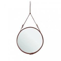 Spejl, Adnet mirror (Brun/Lille) - GUBI