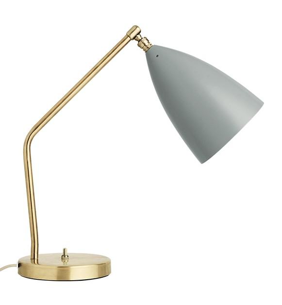 Grossman Grasshopper bordlampe blå grå