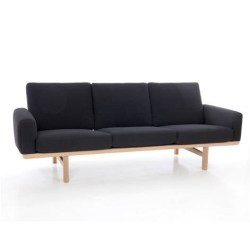 Wegner 236 sofa 3 pers. m. koldskums hynder - Getama