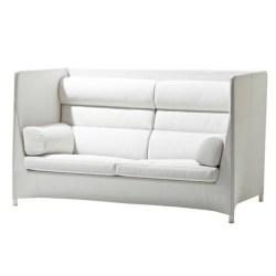 Diamond lounge highbacksofa hvid inkl. hynde - Cane-Line