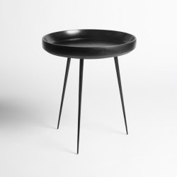 Mater Bowl sofabord Ø40 - Sort
