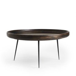 Mater Bowl sofabord Ø75 - X-Large - Sirka grå (brun)