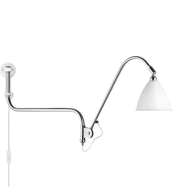 Bestlite BL10 væglampe matt hvid