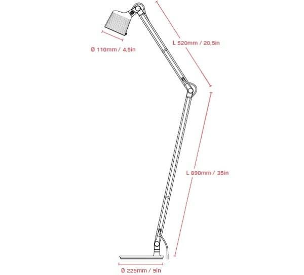 Vipp525 - Gulvlampe