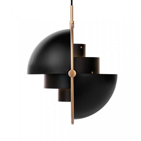 GUBI - Multi-Lite pendel - black/brass
