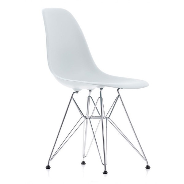 Eames Plastic Chair (DSR) - Hvid
