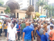 IPOB members protest at Federal High Court Abuja, demand release of their leader Nnamdi Kanu (video)