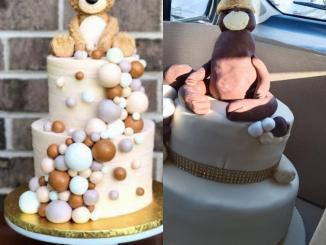 Customer disappointed after asking for a teddy bear cake and getting a different result
