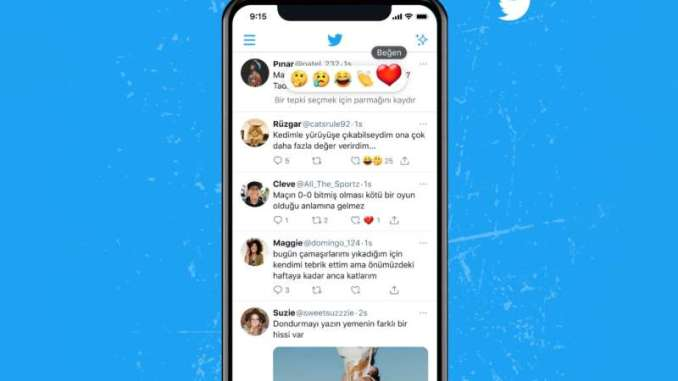 """Twitter is testing emoji reactions for tweets that go beyond a simple """"Like,"""" the company announced today."""