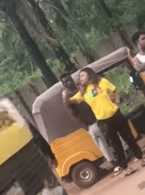 Policeman caught on camera assaulting woman and calling her