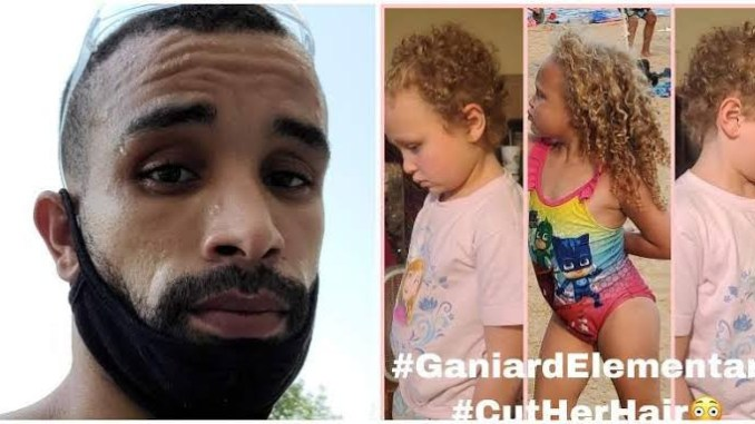 Father files $1M lawsuit after teacher cuts his 7 year old Bi-racial daughter