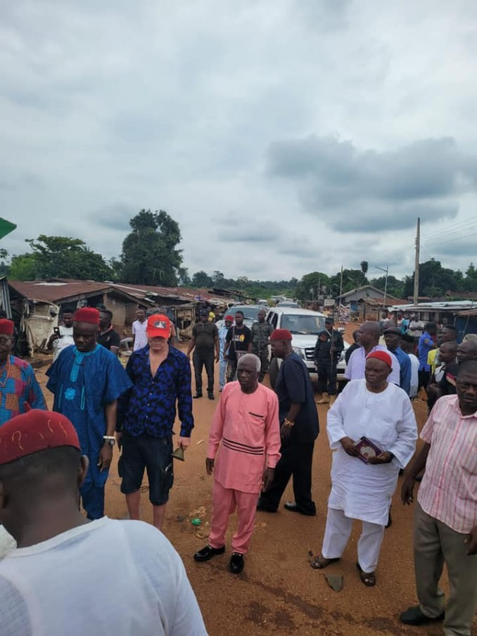 One killed, vehicles destroyed as angry youths attack convoy of Okonjo