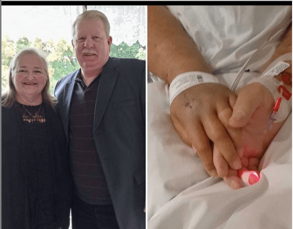 Fully vaccinated couple die of Covid-19 holding hands