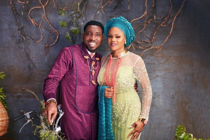You look nothing like your age because I no Dey stress you - Timi Dakolo tells wife on her birthday