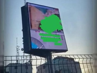 Two arrested as Rivers Govt shuts down electronic billboard showing obscene pornographic video in Port Harcourt