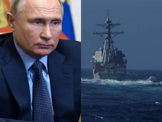 Russia says its Navy chased U.S. naval destroyer away from its territorial waters