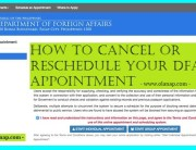 how to cancel or reschedule your dfa appointment