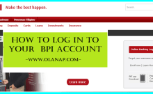 how to log in to your bpi account