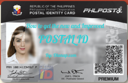 How to get Postal ID
