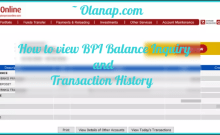 How to View BPI Balance Inquiry and Transaction History 1