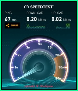 Globe AT HOME Prepaid WIFI in Cavite speed test review (Tanza)
