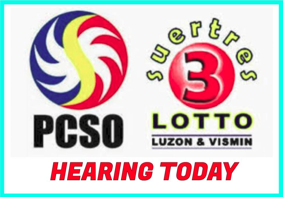 SWERTRES HEARING July 17 2019 | PCSO LOTTO HEARING