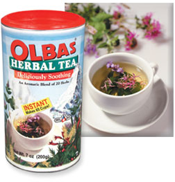 Olbas Instant Herbal Tea is Soothing