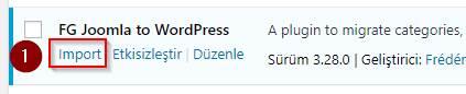 Joomla'dan WordPress'e Geçmek