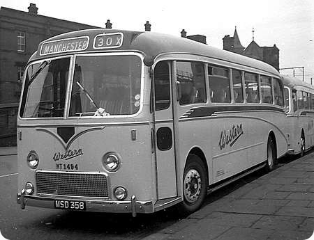 Image result for old scottish buses