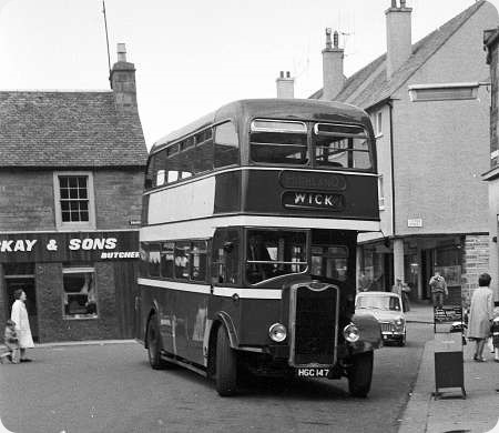 Image result for 1945 bus scotland