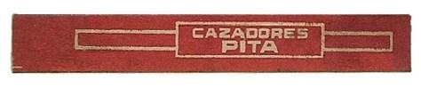 Bague PITA Hnos - CAZADORES (ccw)