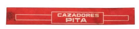 Bague PITA Hnos - CAZADORES (TJ)