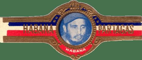 Bague PARTAGAS - Fidel Castro