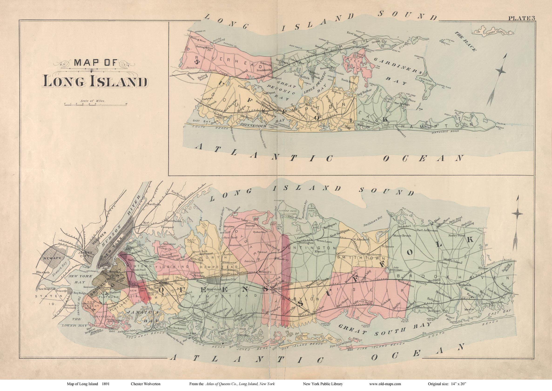 Map Suffolk County Ny