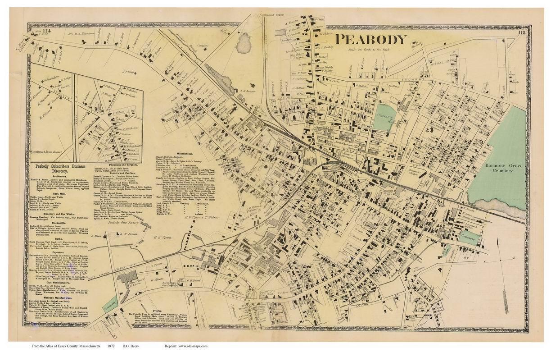 Ma Maps Gloucester Old