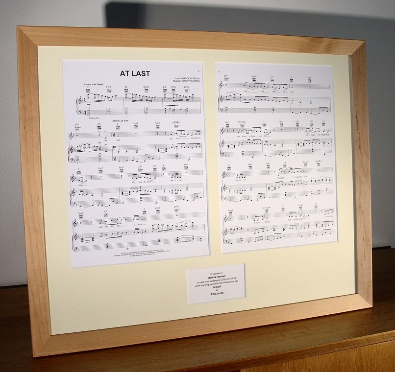 framing sheet music | Frameswalls.org