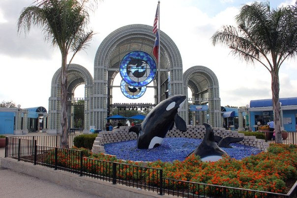 SeaWorld San Antonio Sign