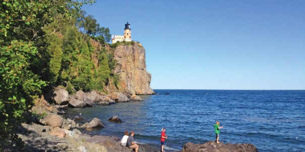 Lake Superior vacations are relaxing