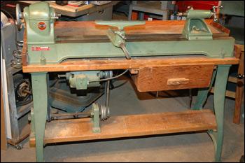 Old Wood Lathe