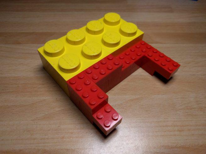 Un Jumbo Brick europeo ha le misure pari esattamente a un triplo dei normali mattoncini.