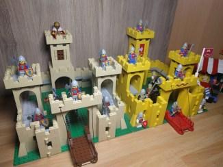 I due castelli a confronto