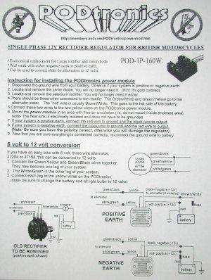 Podtronics Regulator Wiring Diagram  Somurich