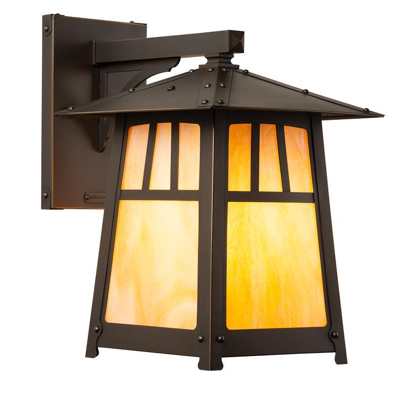 crafts style exterior lighting