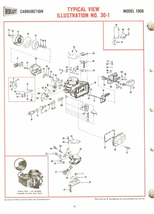 Holley 1908 Exploded Diagrams  The Old Car Manual Project